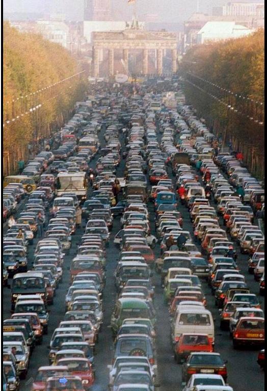 3. Saobraćajna gužva u Berlinu, prve subote nakon pada berlinskog zida.