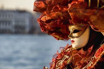 Venecijanska maska-Kraljica Jadrana