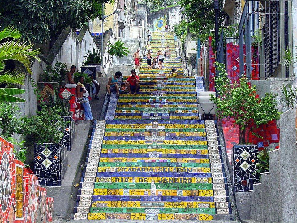 Selaron stepenište u Rio Dežanejru