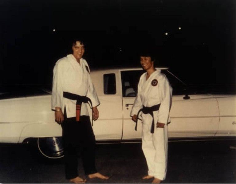 elvis_karate