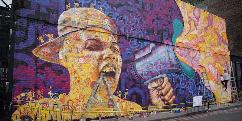 London_mural