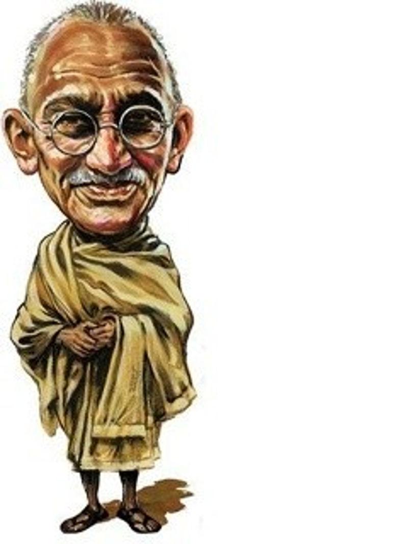 gandi_ karikatura
