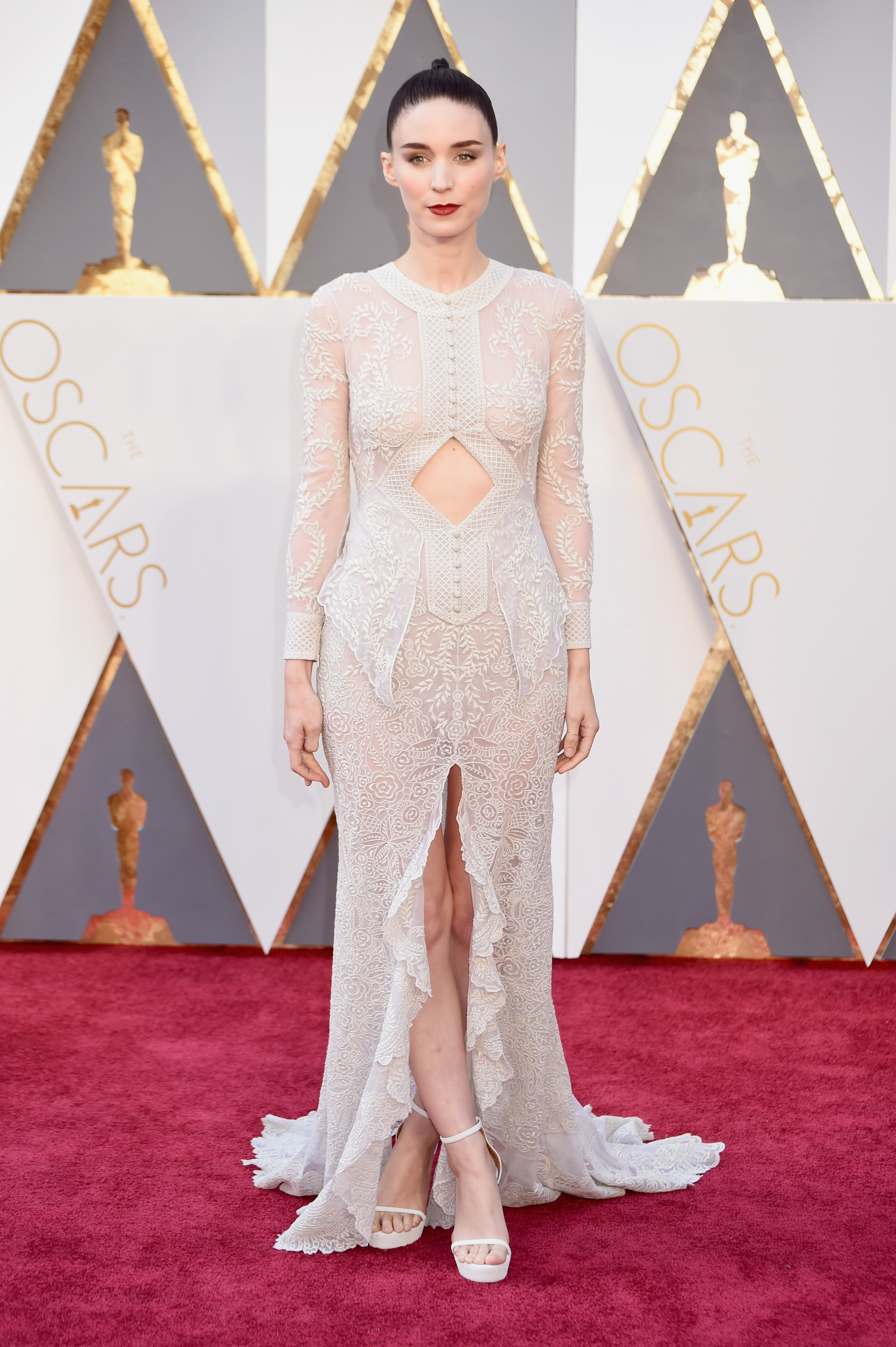 6. Rooney Mara-Givenchy Haute Couture by Riccardo Tisci