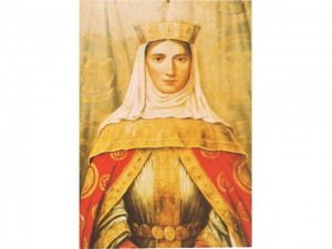 Carica Milica Hrebeljanović (Nemanjić) -  Sestra srpskih vitezova, čuvenih 9 Jugovića i ćerka velikog Jug Bogdana, rođena je 1335. a sa samo 18 se udala za Lazara Hrebeljanovića, poznatijeg kao Cara Lazar. Nakon smrti njenog muža u boju na Kosovu, preuzela je sve državničke poslove na sebe, a posebno domen diplomatije. Bila je majka sedmoro dece, omiljena u narodu. U manastiru Ljubostinji provela je svoje poslednje dane, gde je i preminula 11. novembra 1405. godine. Na istom mestu je i sahranjena.